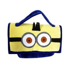 Thought Counts Cartoon Character Utility Bag - Yellow