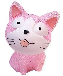 Thought Counts Kitty Glow Lamp - Pink