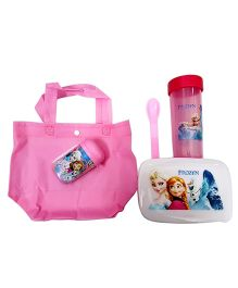Thought Counts 5 In 1 Cartoon Character Tiffin Set - Pink