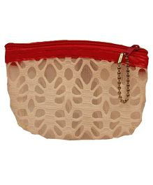 Partymanao Netted Pouch - Beige