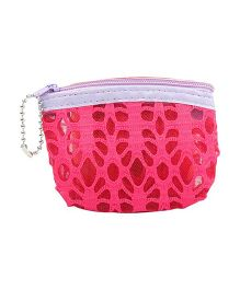 Partymanao Netted Pouch - Fuchsia