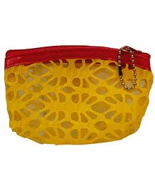 Partymanao Netted Pouch - Yellow