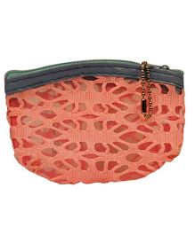 Partymanao Netted Pouch - Light Pink