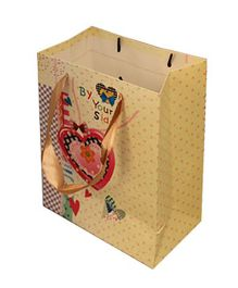 Partymanao By Your Side Paper Bag - Yellow