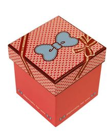 Partymanao Bow On Top Especially For You Paper Box - Pink