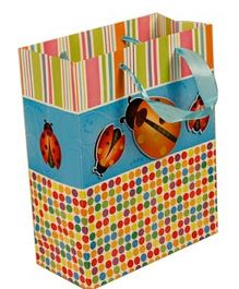 SmartCraft Lady Bug Paper Bag - Yellow Blue