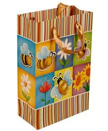 Partymanao Honey Bee Paper Bag - Multicolor