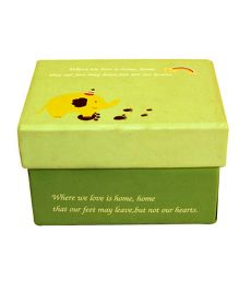 Partymanao Welcome Home Paper Box - Green