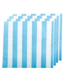 Partymanao Striped Napkin Blue - Pack of 20