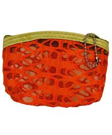 Partymanao Netted Pouch - Orange