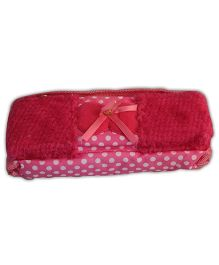 Partymanao Polka Dots Pouch - Pink