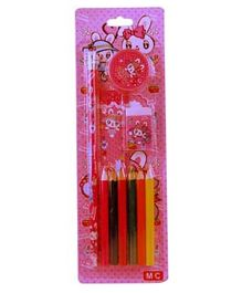Partymanao Stationary Set - Pink