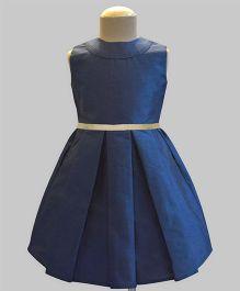 A.T.U.N Classic Audrey Dress - Navy Blue