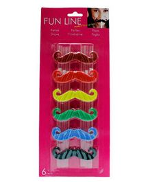 Partymanao Moustache Straws - Multi Color