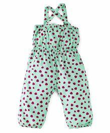 UCB Singlet Printed Jumpsuit - Green