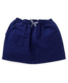 UCB Plain Skirt - Dark Blue