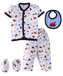 Child World Clothing Set - White