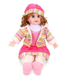 Smiles Creation Doll In Jacket Pink - 54 cm