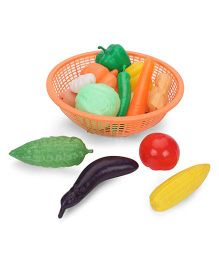 Ratnas Fresh Vegetable Basket Orange - 15 Pieces