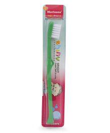 Morisons Baby Dreams Shiny Bright Tooth Brush - Green