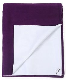 Quick Dry Bed Protector XXL- Plum