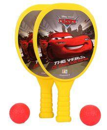 Disney Pixer Cars My First Racket Set - Yellow