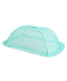 Babyhug Mosquito Net Floral Design - Green
