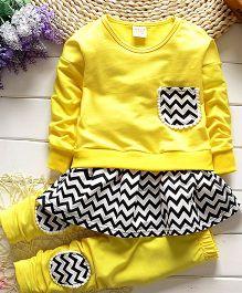 Aww Hunnie 2 Piece Autumn Set - Yellow