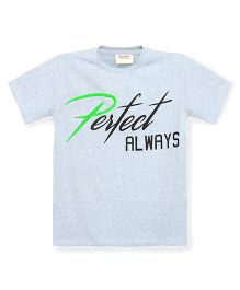 Tonyboy Boys Perfect Always Printed T-Shirt - Light Blue