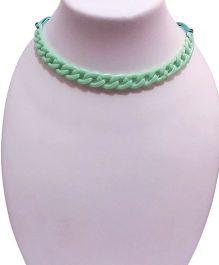 SYN Kidz Designer Linked Neckpiece - Light Green