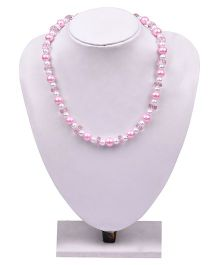 Carolz Jewelry Pearl Chain - Pink
