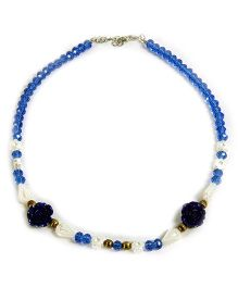 Carolz Jewelry Crystal Chain - Blue