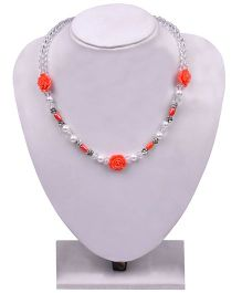 Carolz Jewelry Crystal Chain - Peach
