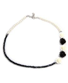 Carolz Jewelry Crystal Chain - Black