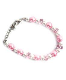 Carolz Jewelry Pearl Bracelet - Pink