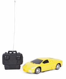 Smiles Creation Remote Control Toy Car - Yellow