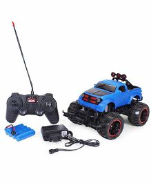 Smiles Creation Remote Control Monster Truck Toy - Blue