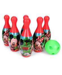 Disney Mickey Mouse Bowling Set - Red