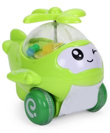 Smiles Creation Friction Helicopter - Green