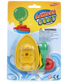 Smiles Creation Balloon Boat Toy - Yellow Green
