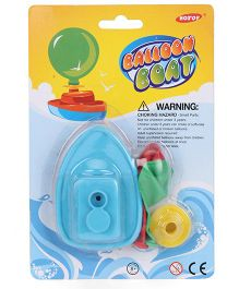 Smiles Creation Balloon Boat Toy - Blue