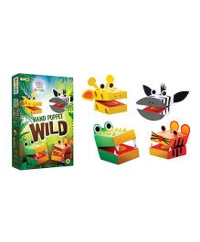 Jumboo 3D DIY Art And Craft Set Hand Puppet Wild - Multi Color