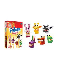 Jumboo 3D DIY Art And Craft Set Finger Puppet - Multi Color