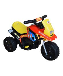 Marktech Battery Operated B Wild Mini Turbo 318 Bike Red Yellow - JT318 RY