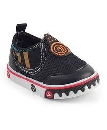 Kittens Shoes Canvas Casual Shoes - Black