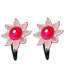Miss Diva Diamond Studded Glittering Tic Tac Set - Pink