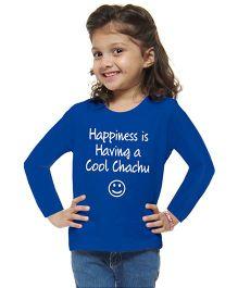 M'andy Cool Chachu Girls T-Shirt - Blue