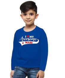 M'andy Awesome Masi Boys T-Shirt - Blue