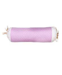 HouseThis Bitsy Polka Bolster - Pink
