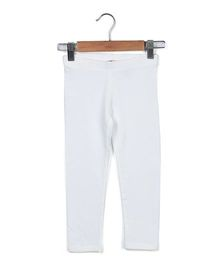 Beebay Full Length Leggings - White